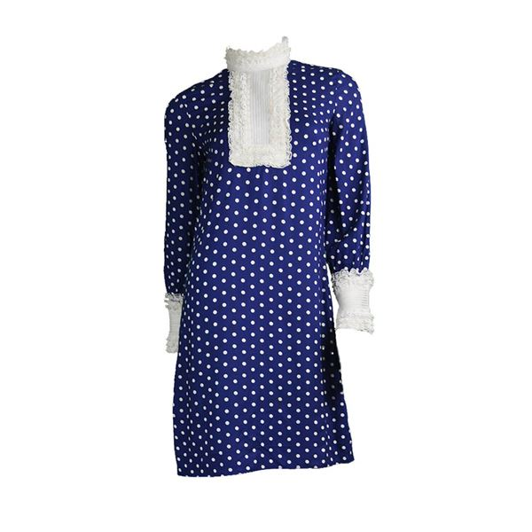 Jean Varon 1960s Polka Dot Mod Dress