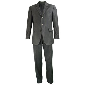 Thierry Mugler 1990s Men's Pinstripe Two Piece Suit