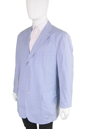 Ralph Lauren 1980s Men's Italian Cotton Blazer