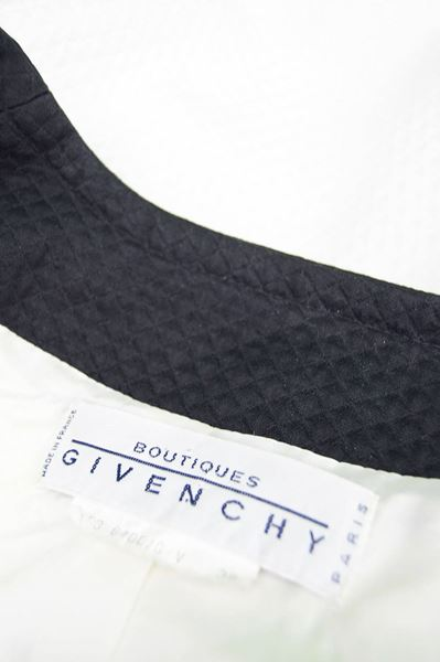 Givenchy 1980s Monochrome Quilted Two Piece
