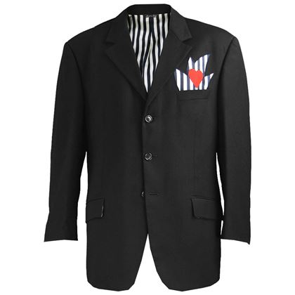Moschino 1990s Men's Italian Wool Blazer