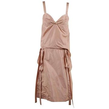 Picture of Marni Silky Sleeveless pink vintage Dress