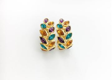 yves-saint-laurent-multi-coloured-crystal-embellished-laurel-earrings-1980s