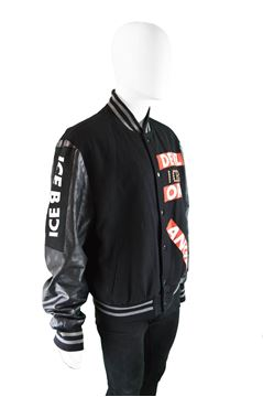 Iceberg 1990s Men's Vintage Baseball Jacket