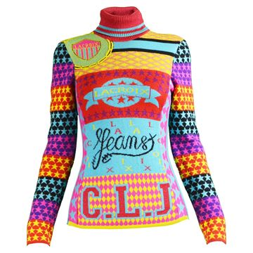 Christian Lacroix 1990s Multicolored Vintage Sweater