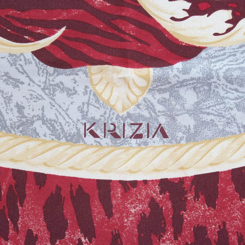 krizia-spotted-scarf