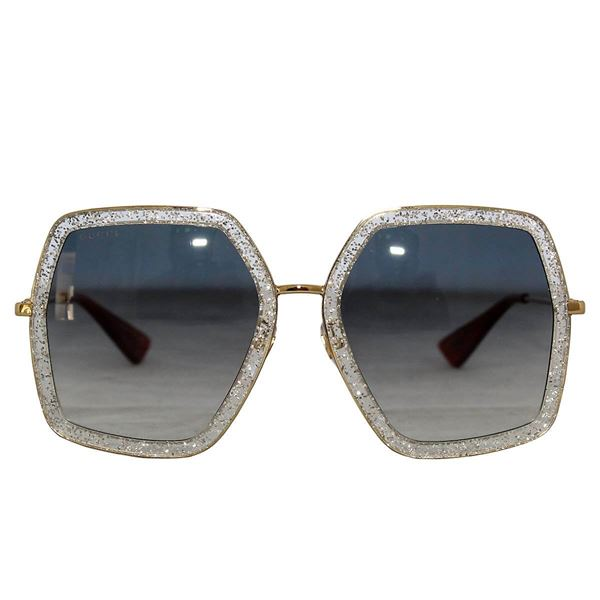 Gucci GG 01065 Square Frame Ladies sunglasses