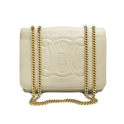 celine-blazon-stitch-w-chain-shoulder-bag
