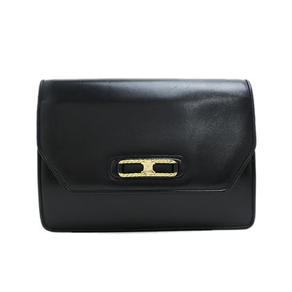 celine-blazon-calf-leather-clutch-bag