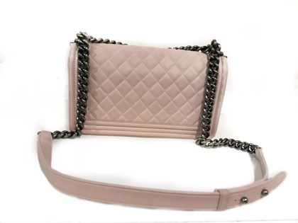 Chanel Boy Pink shoulder Bag
