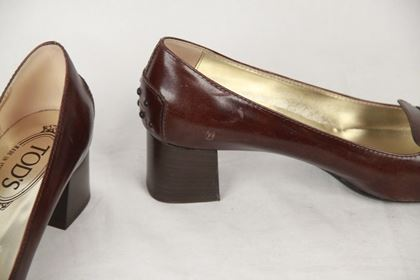 tods-brown-leather-slip-on-pumps-shoes-heels-size-38