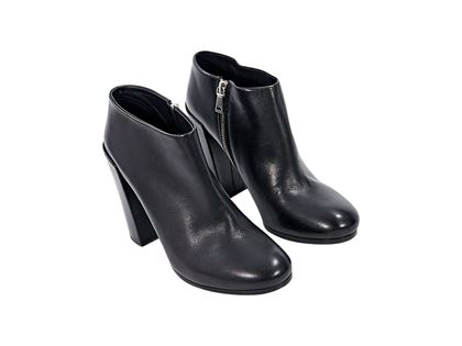 Black Proenza Schouler Leather Ankle Boots