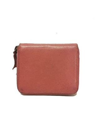 Balenciaga City Wallet Medium In Pink Leather With Silver Hardware