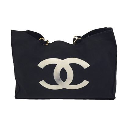 Chanel Shopper With The Famous Cc Logo