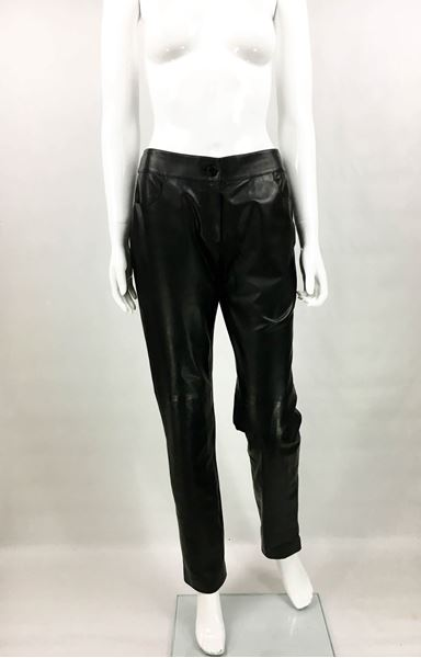 chanel-black-calfskin-leather-trousers-2003