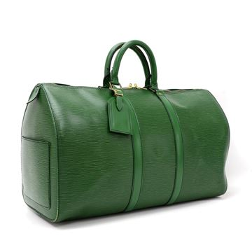 vintage-louis-vuitton-keepall-45-green-epi-leather-duffle-travel-bag-3