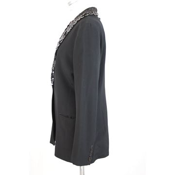 Jean Paul Gaultier Smoking Jacket With Mother of Pearl Buttons- Size 12 US