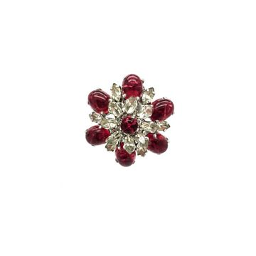 christian-dior-vintage-faux-ruby-diamond-1967-earrings