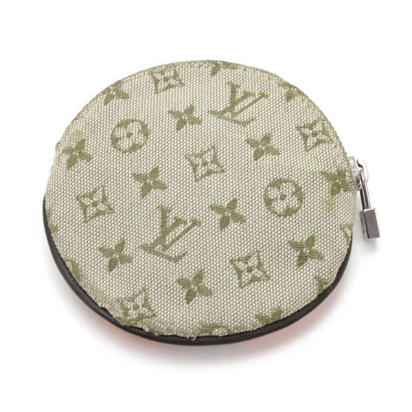 Louis Vuitton Conte De Fees Porte Monnaie Round Green Mini Monogram Canvas Coin Case - 2002 Limited Edition