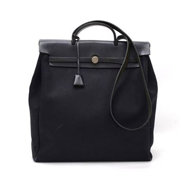 hermes-herbag-mm-2-in-1-black-canvas-leather-shoulder-hand-bag-2
