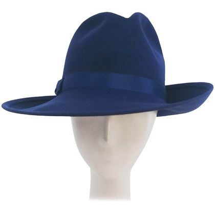 1980s-cobalt-blue-wide-brim-womens-fedora