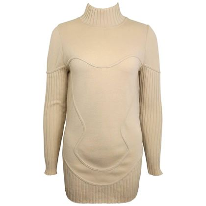 mugler-by-thierry-mugler-light-beige-mock-neck-wool-sweater
