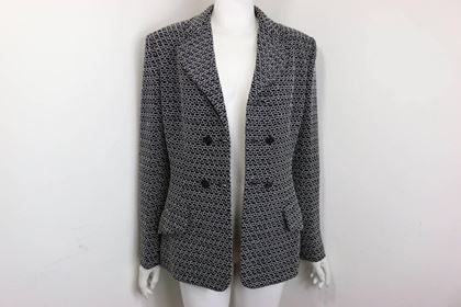 chanel-black-tweed-wool-with-white-knitted-net-double-breasted-jacket
