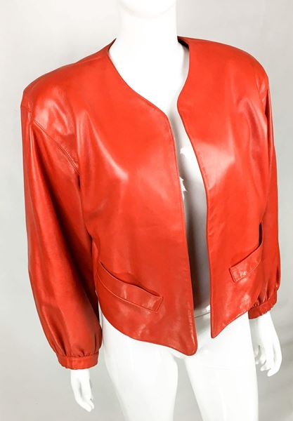 yves-saint-laurent-red-soft-leather-jacket-1980s
