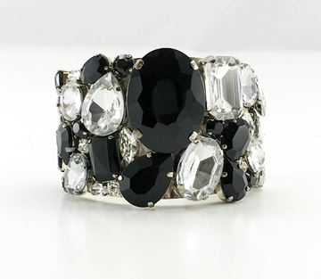 armani-hand-made-black-glass-and-crystal-cuff-bracelet-21st-century