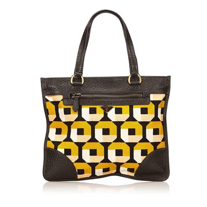 prada-yellow-and-multi-colour-saffiano-print-canvas-handbag
