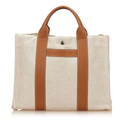 beige-tan-hermãs-canvas-sac-harnais-mm-tote-bag-beige