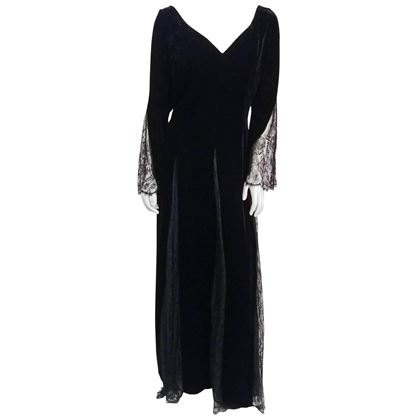 1980s-bill-blass-black-velvet-gown-w-lace-detail