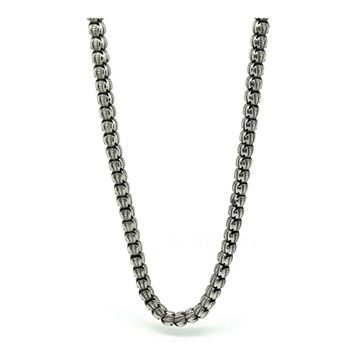 antique-victorian-sterling-silver-chain-necklace