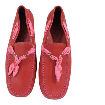 Picture of Tod's red leather loafer