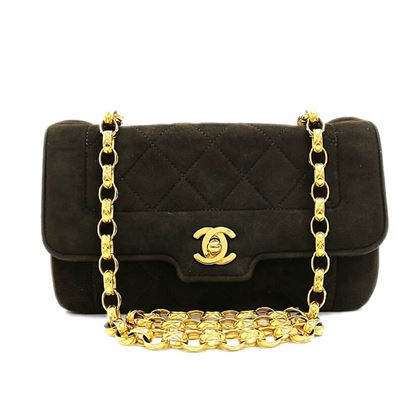 chanel-matelasse-quilted-suede-leather-chain-shoulder-bag-2