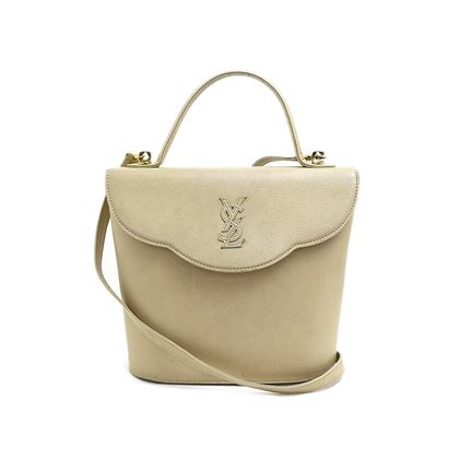 yves-saint-laurent-embossed-leather-2way-hand-bag