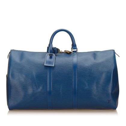 blue-louis-vuitton-epi-leather-keepall-bag-blue
