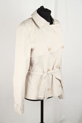 cacharel-beige-cotton-double-breasted-trench-style-jacket-size-36