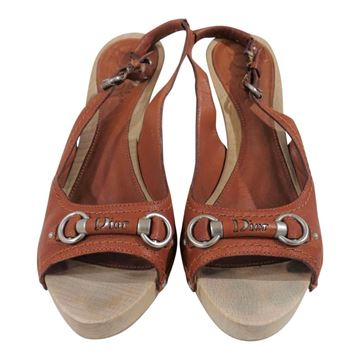Picture of Christian Dior high heels brown sandals