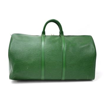 vintage-louis-vuitton-keepall-55-green-epi-leather-duffle-travel-bag