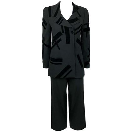 chanel-black-wool-trouser-suit-with-velvet-details-1998