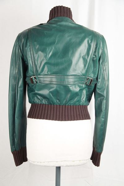 gucci-green-leather-bomber-madonna-jacket-size-40