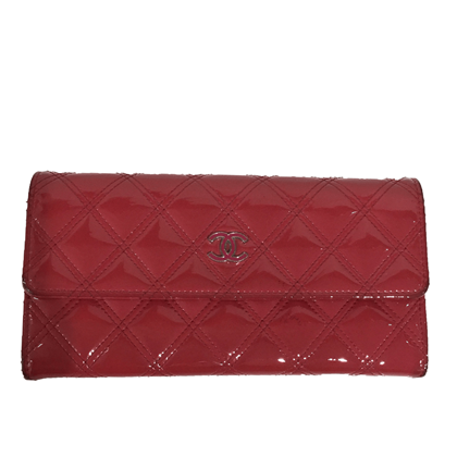 chanel-large-red-wallet