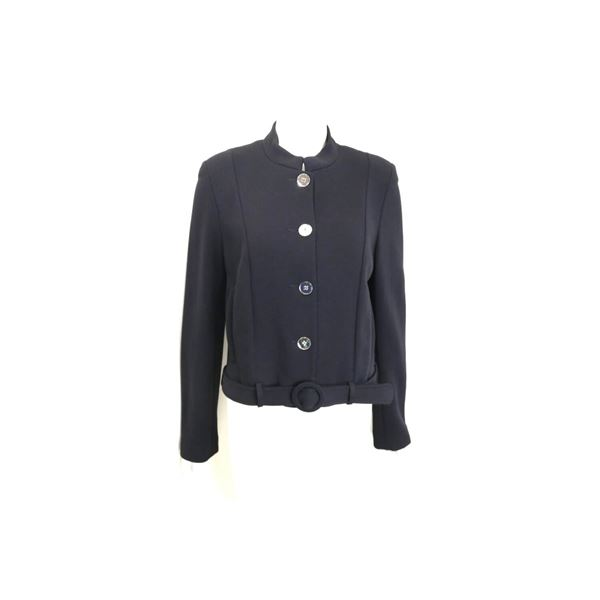 dorothee-bis-black-mandarin-neck-with-mirror-buttons-and-belt-cropped-jacket