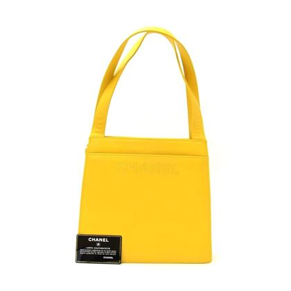 chanel-yellow-lambskin-leather-hand-bag