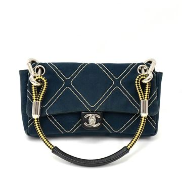 chanel-navy-quilted-canvas-no5-charm-flap-mini-hand-bag