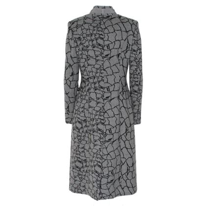 Valentino Garavani Long Grey Ladies  Coat