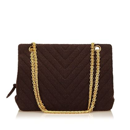 brown-chanel-quilted-chevron-shoulder-bag-brown