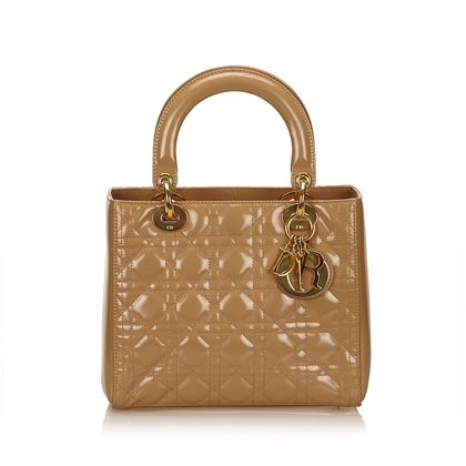 tan-christian-dior-patent-leather-lady-dior-bag-tan