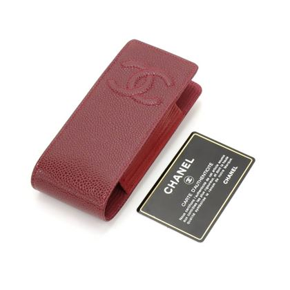 chanel-burgundy-caviar-leather-phonecigarette-case